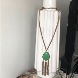 Jewelry - Green Pendant Necklace